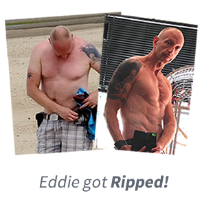 One of our clients that lost fat and gained muscle after training with Luke Rattue Personal Trainer