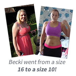 beckis transformation after training with Luke Rattue in Abbots Langley